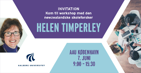 Workshop ved Helen Timperley